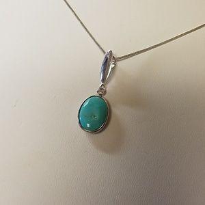 Jay King DRT Turquoise Necklace